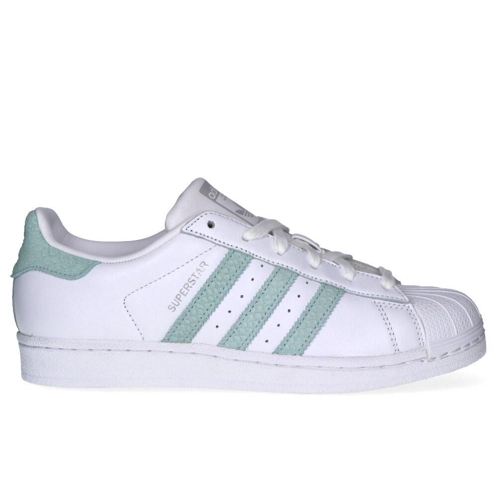 Adidas  Adidas superstar w ftwwhtashgrn MULHER Adidas B41509