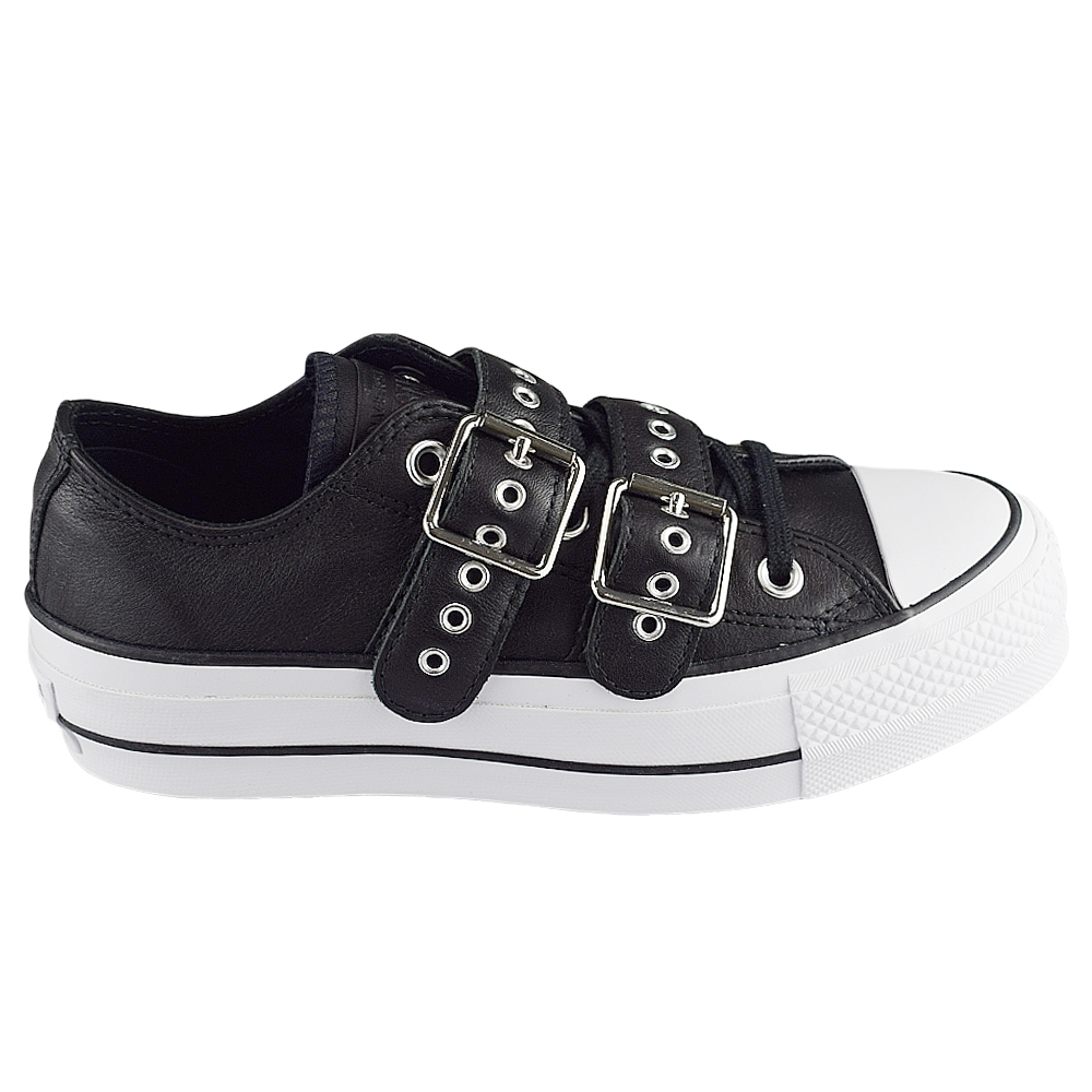 fa18becb76b CONVERSE ALL STAR CTAS LIFT BUCKLE OX BLK LTD (CLU)