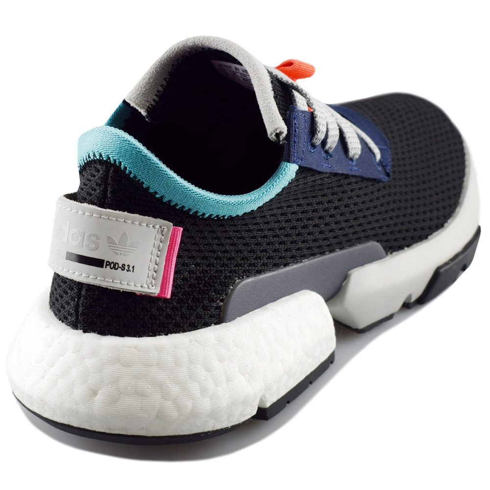 Adidas  Adidas pod s3.1 cblackcblacksolred HOMEM MAN