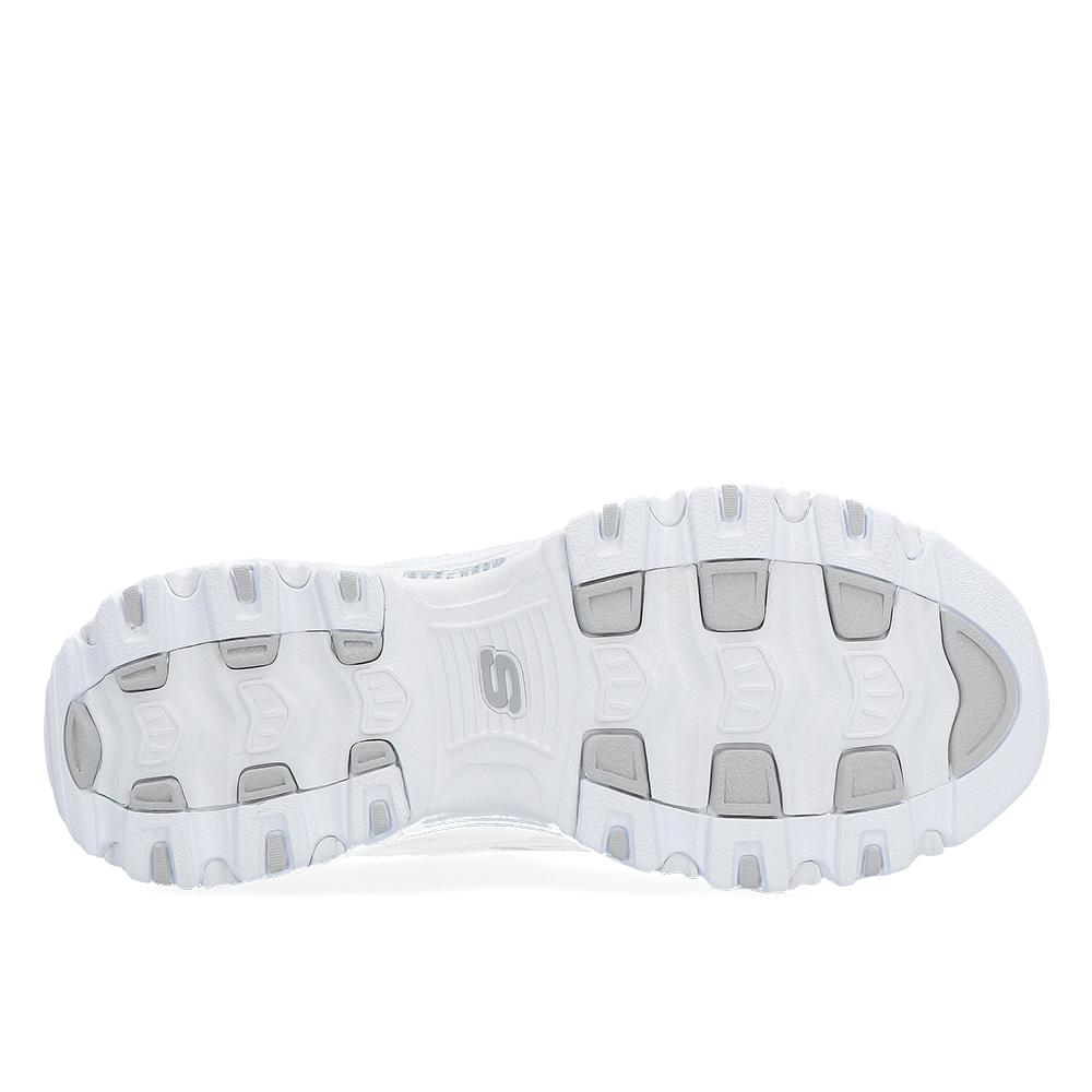 cac43f5c8a75b8 Skechers |Skechers d'lites fresh start white/silver Skechers 11931-WSL