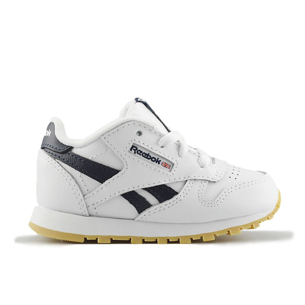 38e3cf7688d REEBOK CLASSIC LEATHER INFANTS WHITE COLLE (CLB)