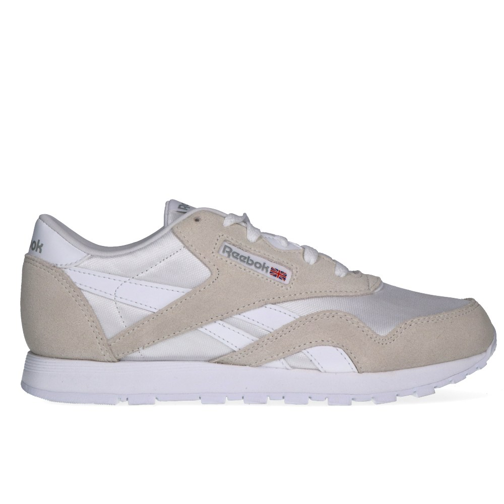 087723d2a0e REEBOK CL NYLON JUNIOR WHITE LIGHT GREY (CLG)