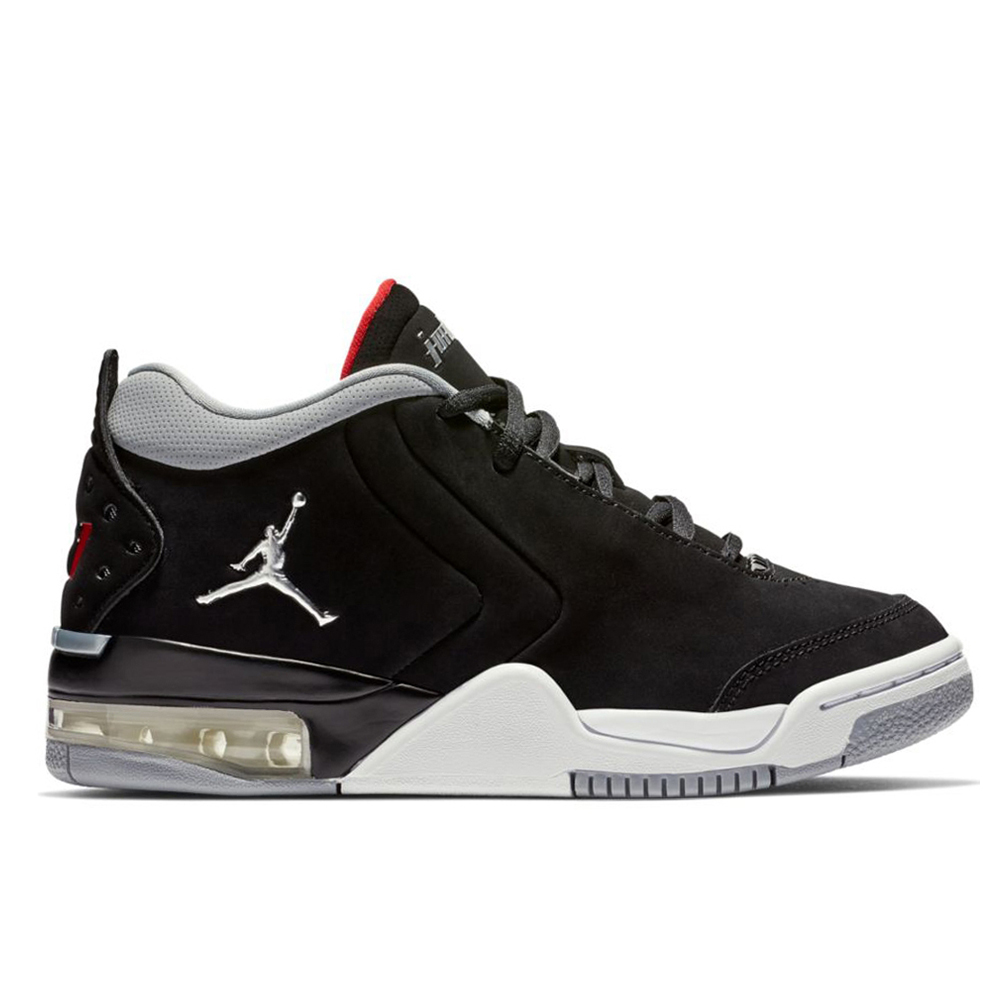 3ca05ed126f NIKE JORDAN BIG FUND (GS) BLACK METALLIC SI (CLG)