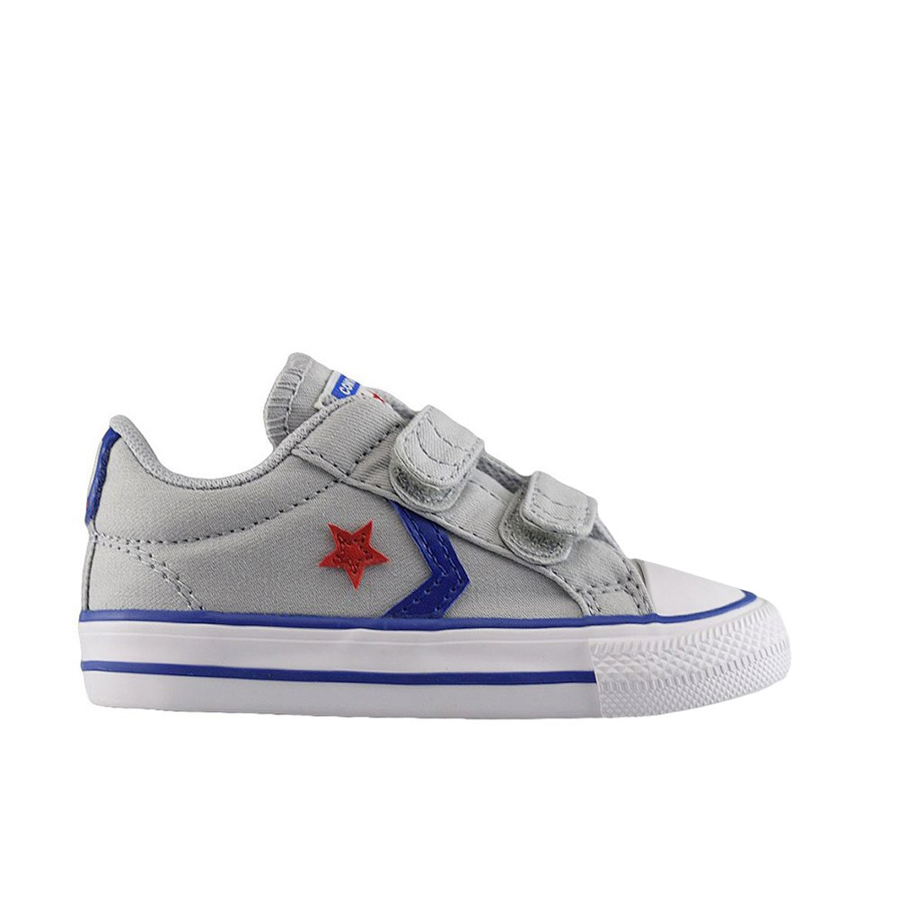 32e579fa73e CONVERSE STAR PLAYER 2V OX WOLF GREY BLUE RED (CLB)