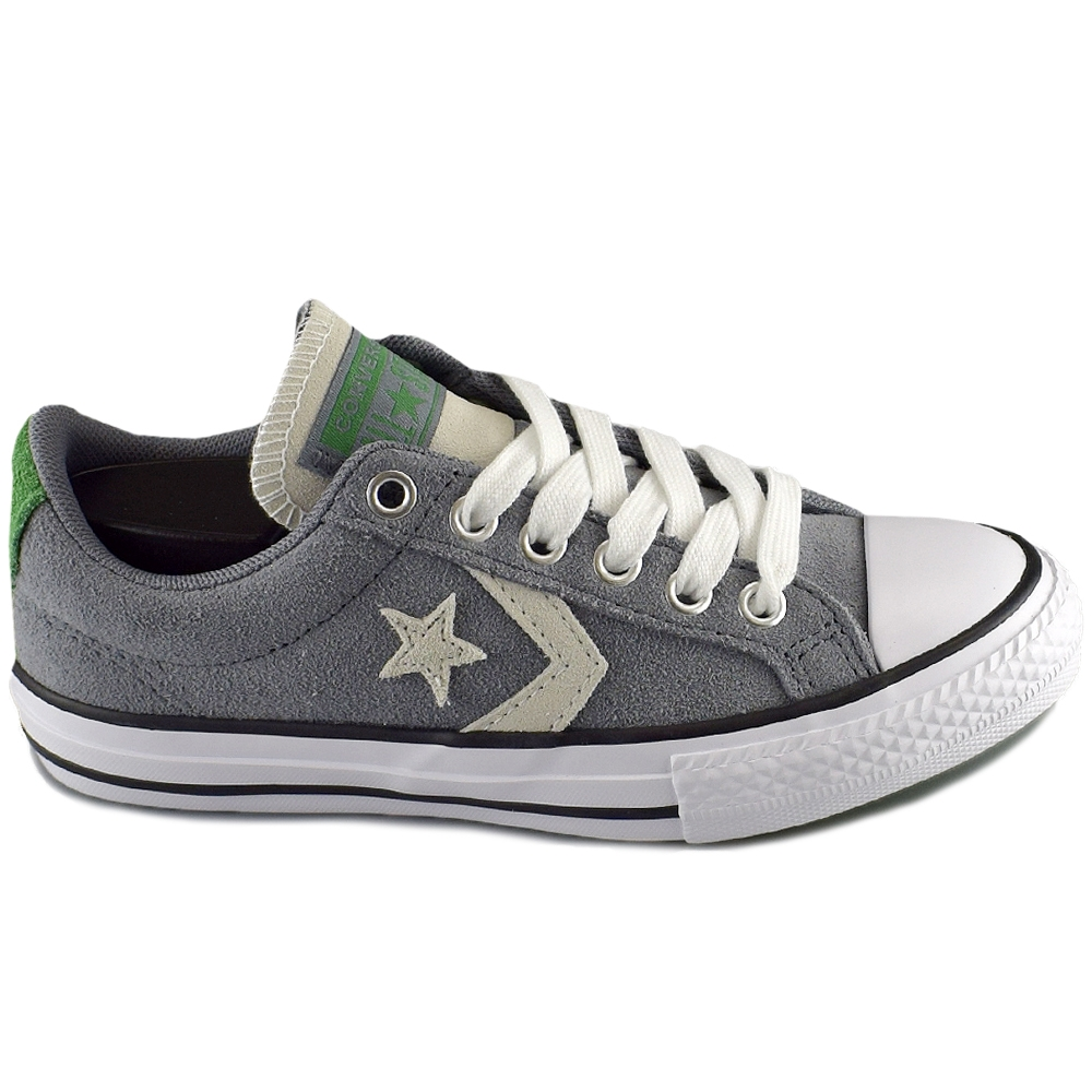 39810ea51a6 CONVERSE ALL STAR PLAYER OX COOL GREY GREE (CLJ)