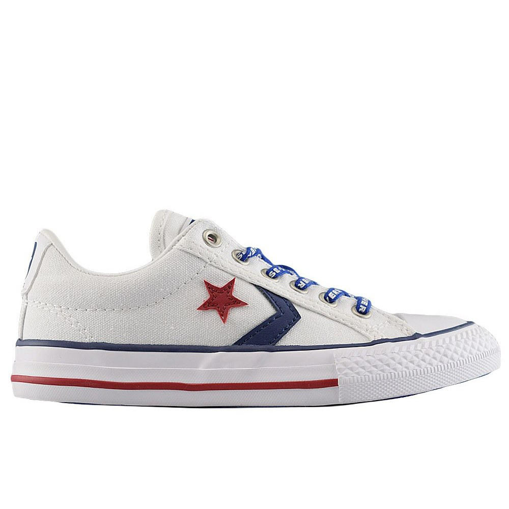 d7f9628395d CONVERSE STAR PLAYER EV OX WHITE NAVY GYM (CLJ)