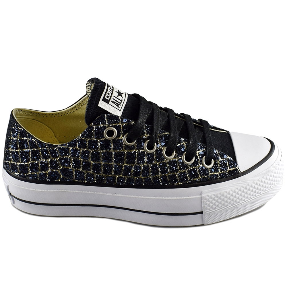 3f2e2b5ce71 CONVERSE ALL STAR CTAS LIFT OX BLACK NAVY LTD (CLU)