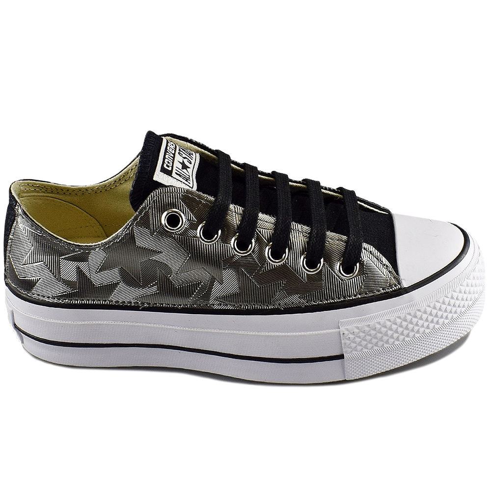 bd73a6834eb CONVERSE ALL STAR CTAS LIFT OX BLACK GRAPH LTD (CLU)
