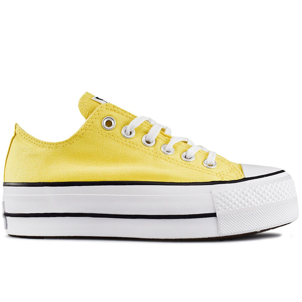 230e230df23 CONVERSE ALL STAR CTAS LIFT OX BUTTER YELL (CLU)