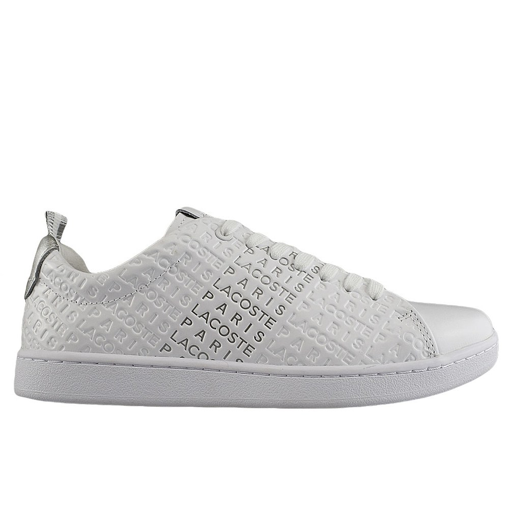 fdc4c8b7d2c LACOSTE CARNABY EVO 119 11 WHITE SILVER (CLM)