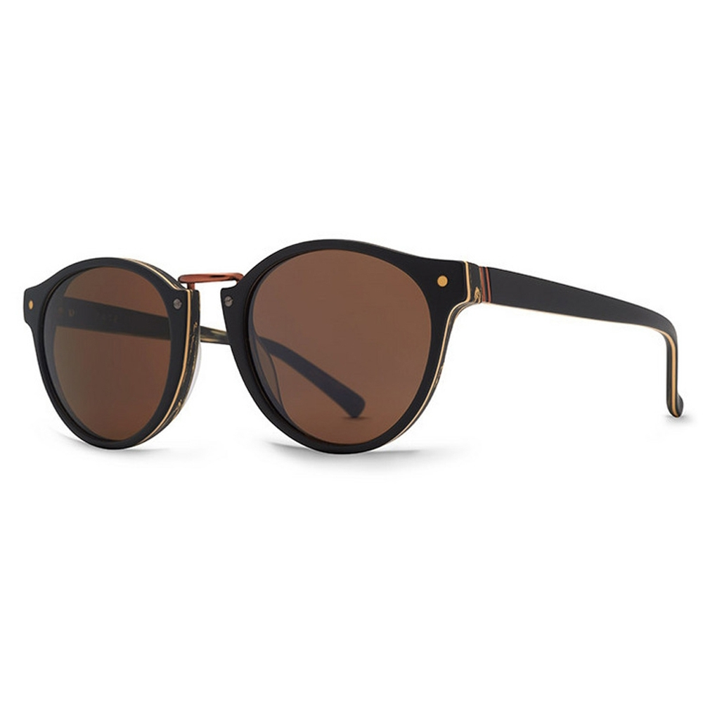 01603927c VON ZIPPER OCULOS STAX (FCG) BLACK WOOD SATIN BRONZE (ACG)