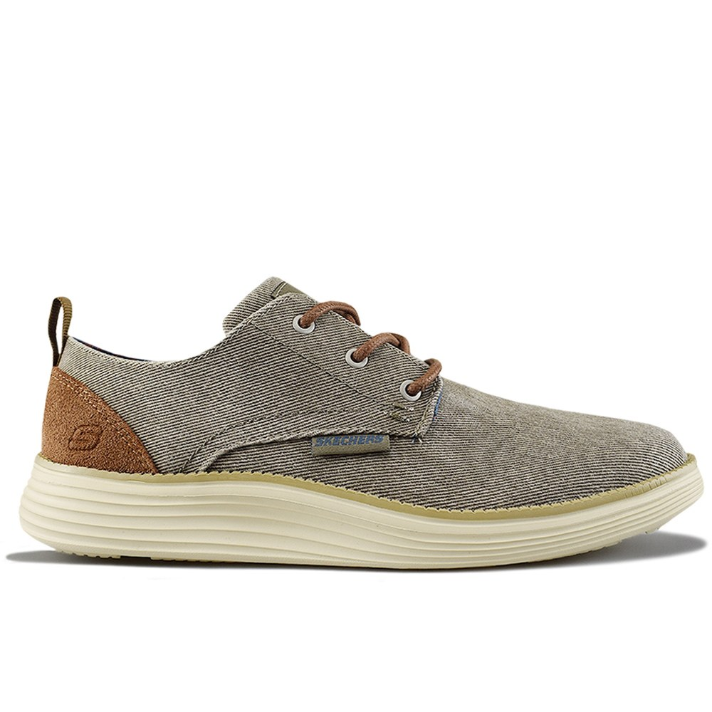 58fcee161 SKECHERS STATUS 2.0 PEXTON TAUPE (CLH)