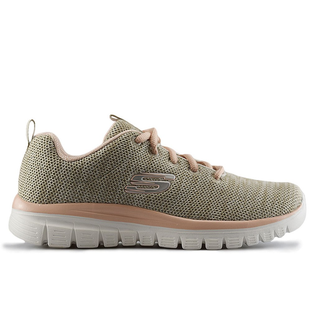 bdb91a4ad09 SKECHERS GRACEFUL - TWISTED NATURAL CORAL (CLM)