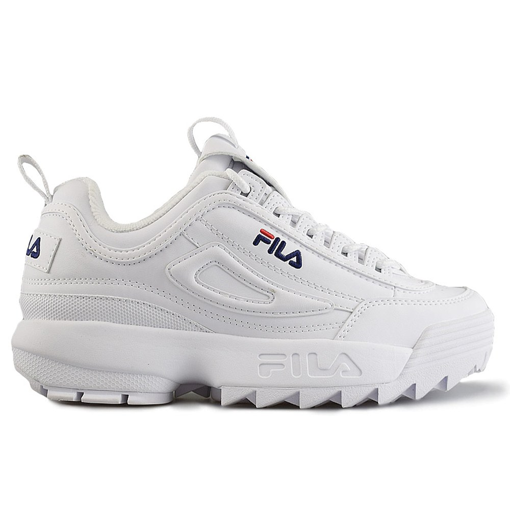 243d097bc FILA DISRUPTOR LOW WMN WHITE (CLM)